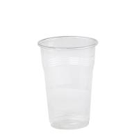 Bicchiere trasparente PP 280ml Ø75mm  H105mm