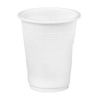 Bicchiere PP bianco 195ml Ø71mm  H85mm