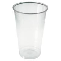 Bicchiere PP trasparente 300ml Ø80mm