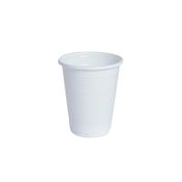 Bicchiere PP bianco 200ml Ø70mm  H82mm