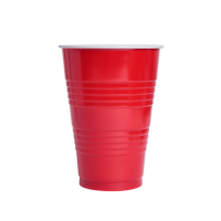 Bicchiere Pong Rosso 450ml Ø90mm  H125mm