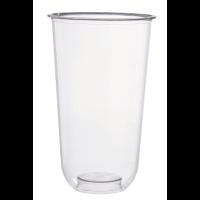 Bicchieri PLA trasparente 720ml Ø96mm  H156mm