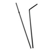 Cannuccia Nera Flessibile  Ø5mm  H240mm