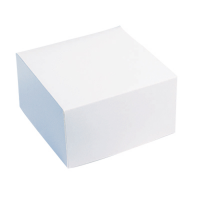 Scatola pasticceria bianca  260x260mm H50mm