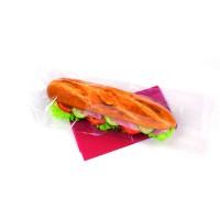 Sacchetto per panino in PP trasparente  350x140mm