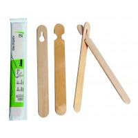 Coppia di bacchette in legno imbustate per principianti   H150mm