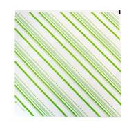 Carta per alimenti antiunto bianca, decorazione verde  310x320mm